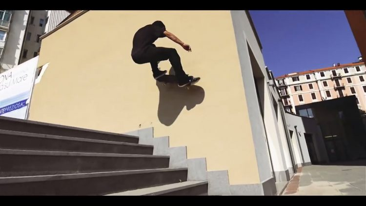 med skateboard cruise part 1