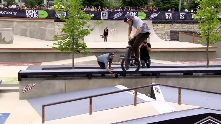 dew tour chicago bmx street