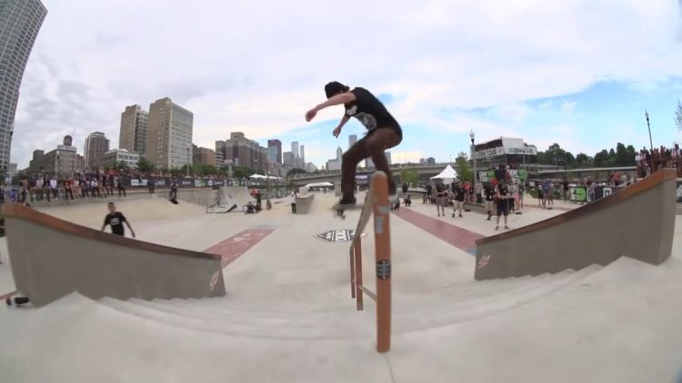 dew tour chicago skateboard street
