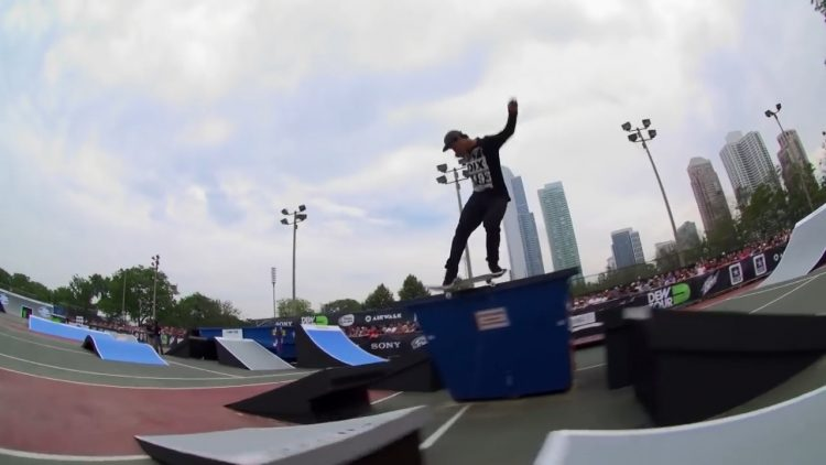 dew tour chicago skateboard streetstyle